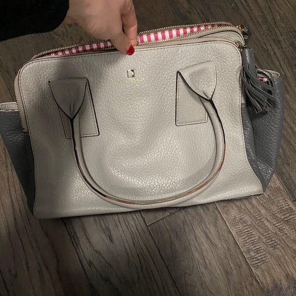 Kate Spade Grey top handle bag
